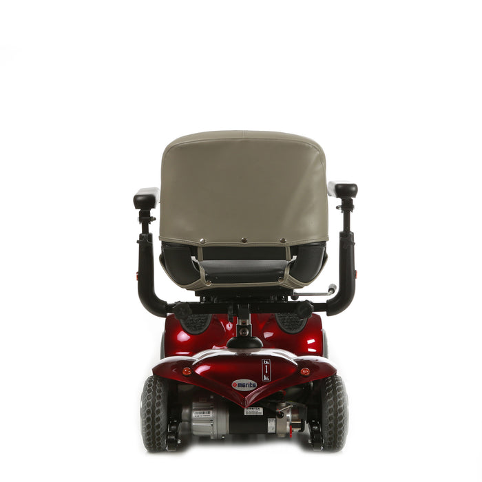 Merits Health S245 Pioneer 2 4-Wheel Travel Scooter rear view