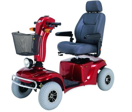 Merits Health S341 Pioneer 10 Heavy-Duty Mobility Scooter left angle view