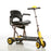 Merits Health S542 Yoga Folding 4-Wheel Mobility Scooter right angle view