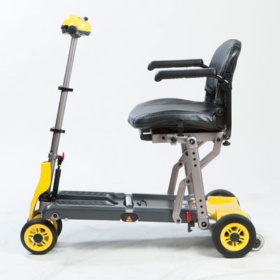 Merits Health S542 Yoga Folding 4-Wheel Mobility Scooter left side view