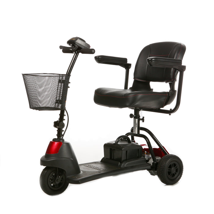 Merits Health S730 Roadster Mini 3-Wheel Travel Scooter left angle view