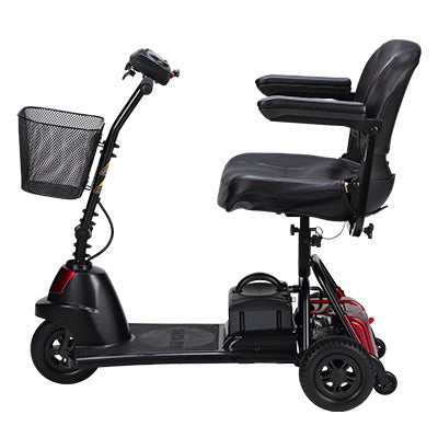 Merits Health S730 Roadster Mini 3-Wheel Travel Scooter left side view