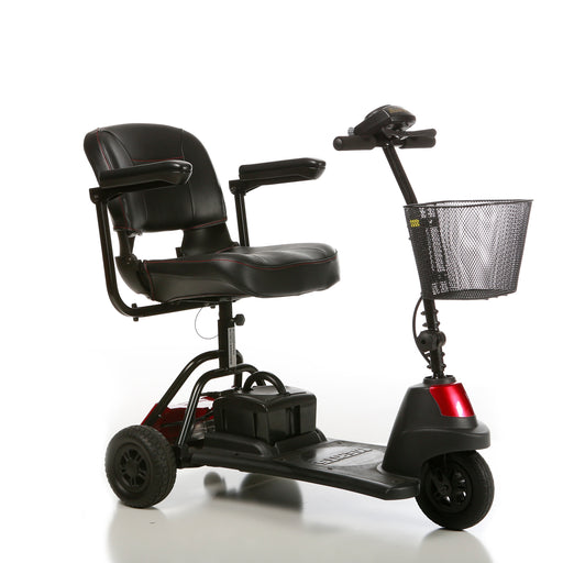 Merits Health S730 Roadster Mini 3-Wheel Travel Scooter right angle view