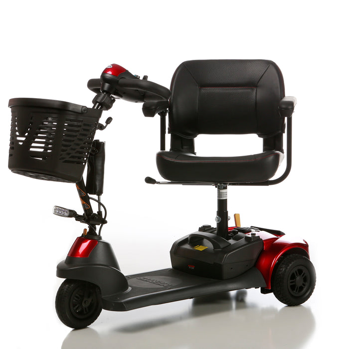 Merits Health S731 Roadster Deluxe 3-wheel travel scooter seat swiveled 45 degrees