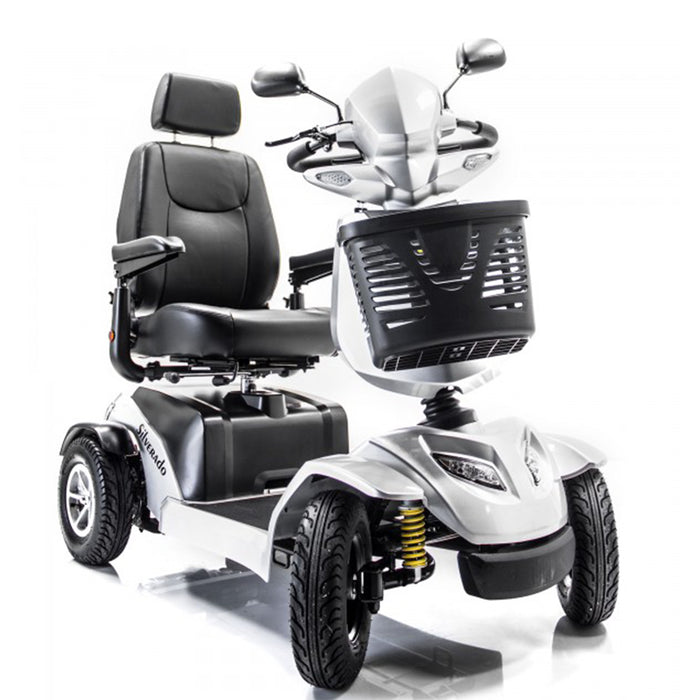 Merits Health S941A Silverado Full Suspension 4-Wheel Mobility Scooter front view