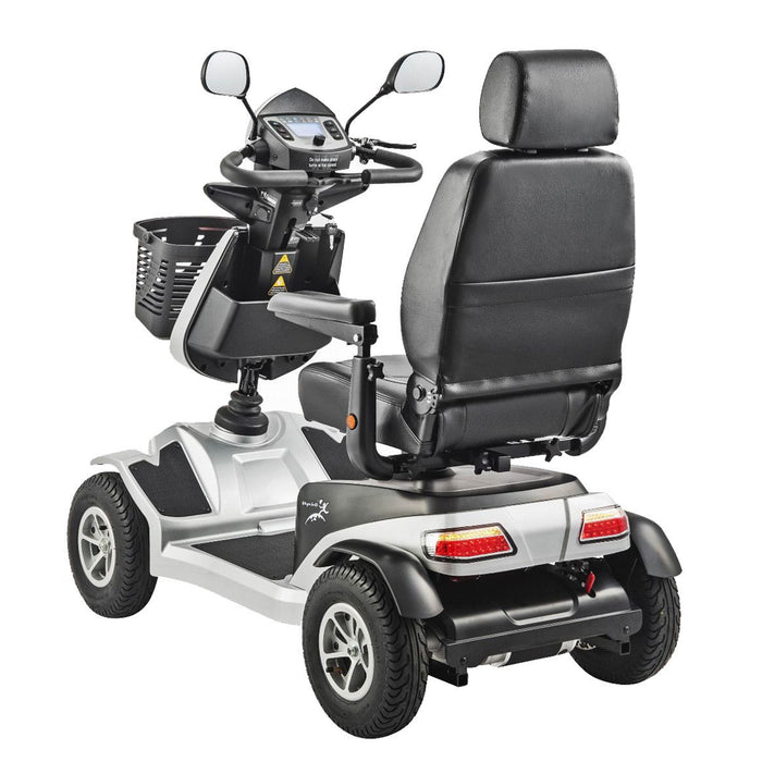 Merits Health S941A Silverado Full Suspension 4-Wheel Mobility Scooter rear angle view