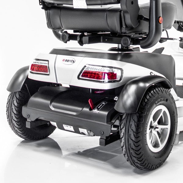 Merits Health S941A Silverado Full Suspension 4-Wheel Mobility Scooter rear