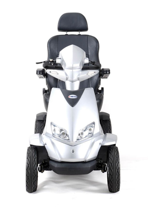 Merits Health S941L Silverado Extreme 4-Wheel Full Suspension Electric Scooter front view