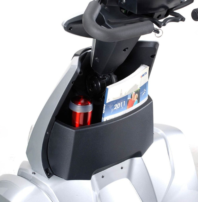 Merits Health S941L Silverado Extreme 4-Wheel Full Suspension Electric Scooter compartment