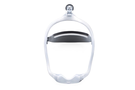 Philips Respironics DreamWear Nasal CPAP mask with headgear front view