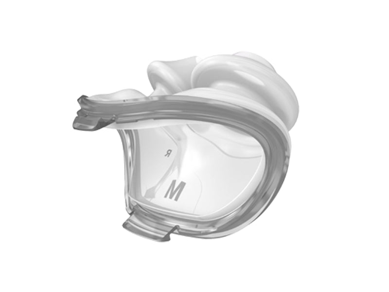ResMed AirFit™ P10 Nasal Pillows CPAP Mask size medium side view