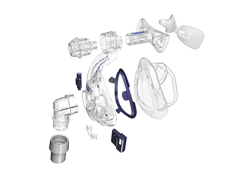 ResMed Mirage Activa LT Nasal CPAP mask exploded view