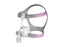 ResMed Mirage FX Nasal CPAP Mask for Her with Headgear side view
