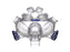 ResMed Mirage Liberty Full Face CPAP mask front view