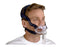 ResMed Mirage Liberty Full Face CPAP mask with headgear worn by a man