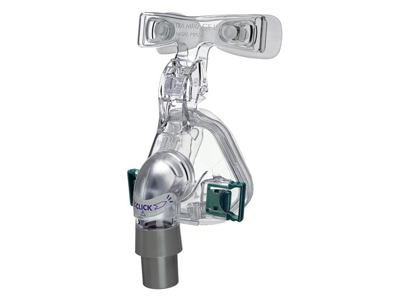 ResMed Mirage Micro Nasal CPAP mask angle view