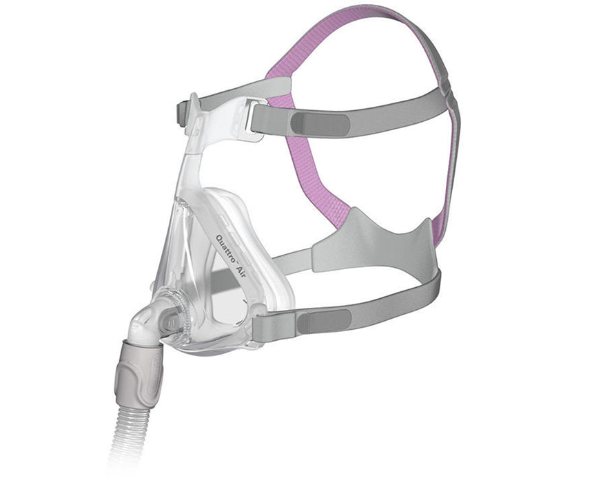 ResMed Quattro Air Full Face CPAP mask for her
