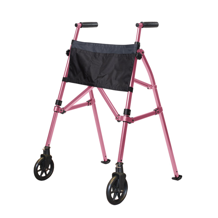 Stander EZ Fold-N-Go Walker Regal Rose