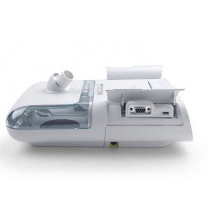 side view of the dreamstation auto cpap