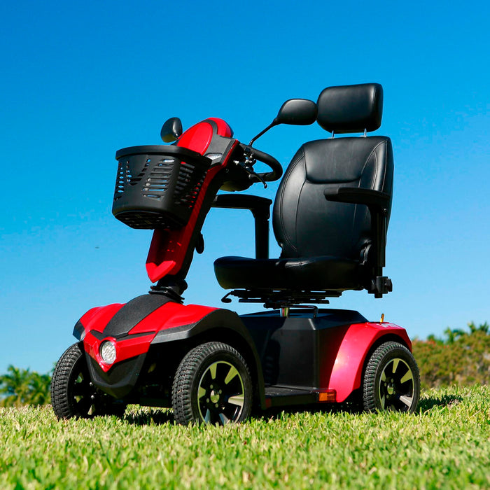 drive panther mobility scooter side view