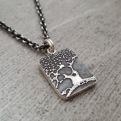 Small Beer Speak Tree Necklace