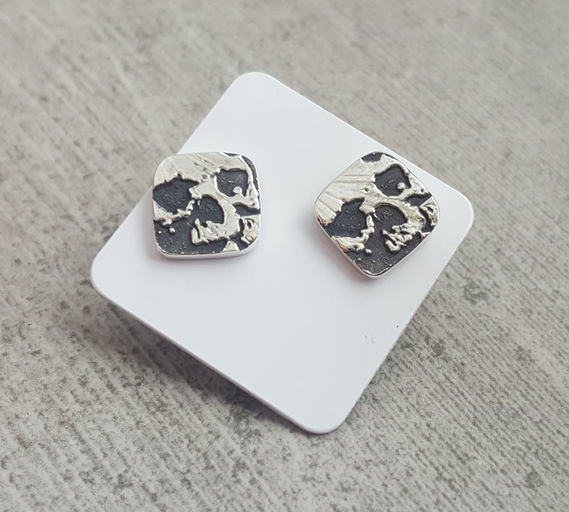 Catacombs Skull Stud Earrings