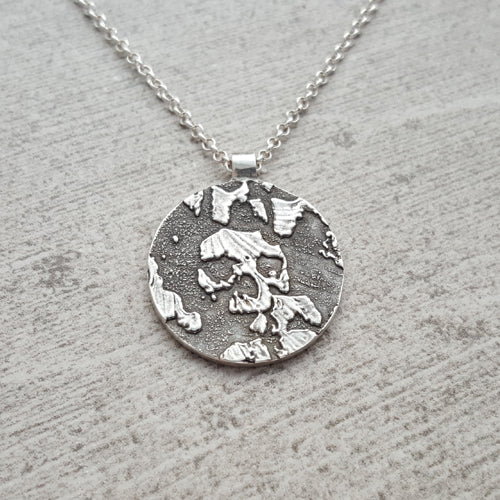 Catacombs Small Skull Necklace
