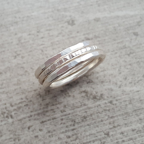 Single 14k Gold Fill Stack Ring