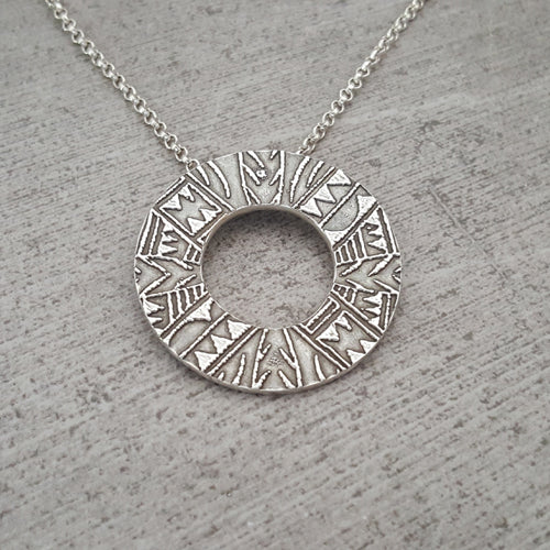 Hawaiian Open Circle Necklace