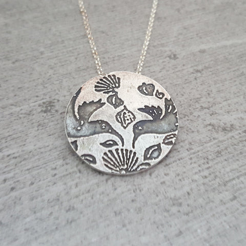 Paisley Aloha Print Necklace Benefits Alzheimer's Research
