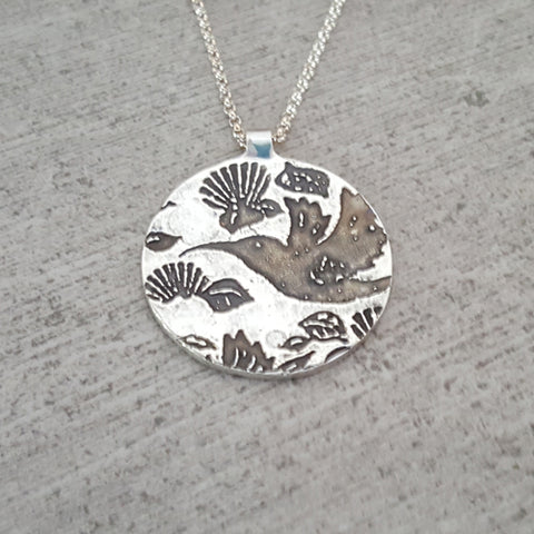 Domed Humming Bird Necklace for Alzheimer's Research