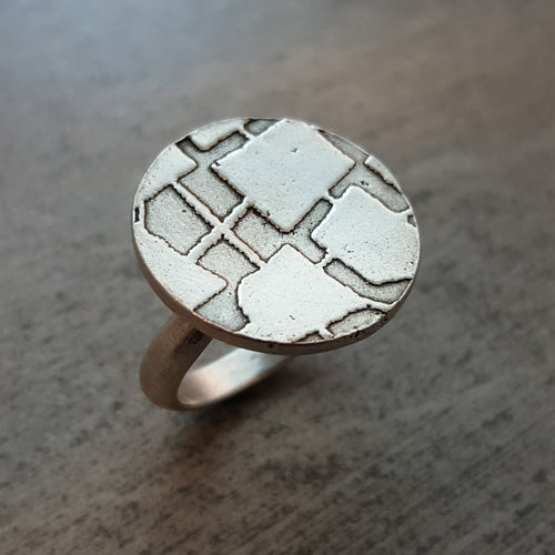 Constellation Ring in Sterling Silver