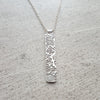 Grand Canyon Tree Large Rectangle Necklace