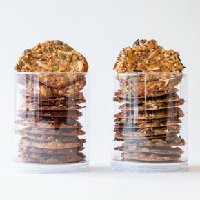 Nutty crunch | Gluten free cookies | Vegetarian biscuits
