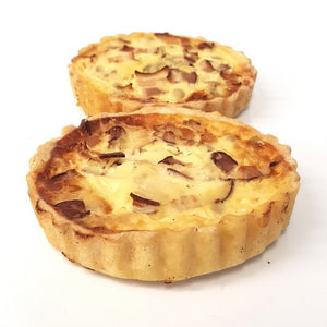 Savoury tart | Leek and bacon