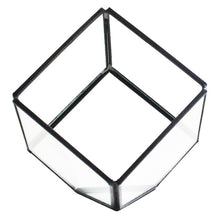 Afbeelding in Gallery-weergave laden, Geometric Cubes Glass Terrarium Home Decor Plant Fleshy Flower Holder Vase Pot