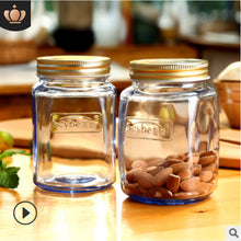 Afbeelding in Gallery-weergave laden, Stained Glass Sealed Cans Kitchen Storage Jars Honey Dried Fruit Bottles European And American Style Multifunctional Storage Bot