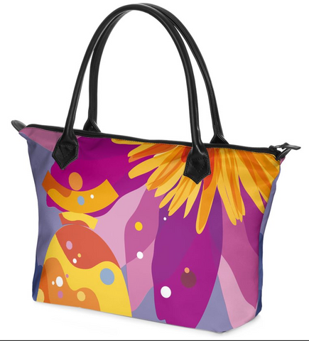 "Dolores Hand bag Zip-Top ""Summertime"""