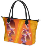"Dolores Hand bag Zip-Top ""Mandarine"""