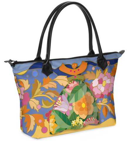 "Dolores Hand bag Zip-Top ""Spring break"""