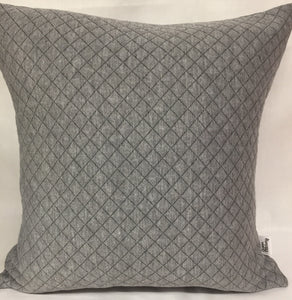 "Quilted Diamonds pillow 18""x18"""