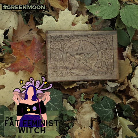 Fat Feminist Witch Spirit Spell Samhain