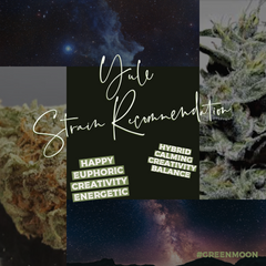 Yule 2019 Cannabis Strain Recommendation witchcraft witch