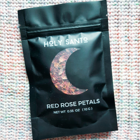 Rose Petal Packet by Holy Santo