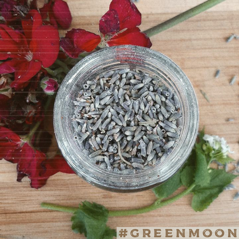 Organic Lavender and Lemon Peel Herb Jar
