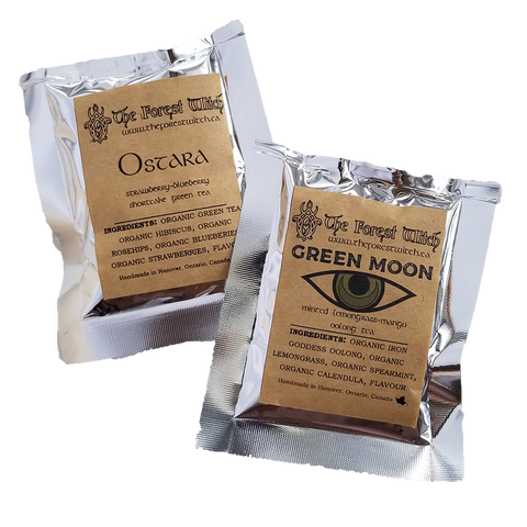 Custom Loose-Leaf Tea Blends - Green Moon Apothecary Ltd