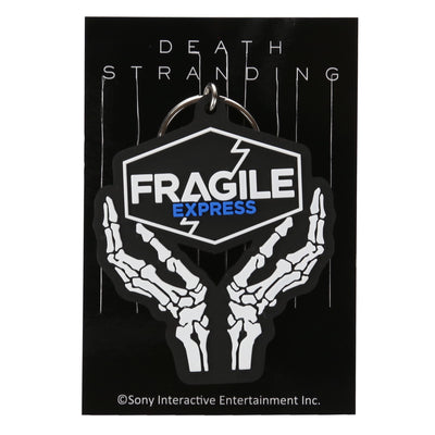 Rubber keychain / DEATH STRANDING FRAGILE EXPRESS