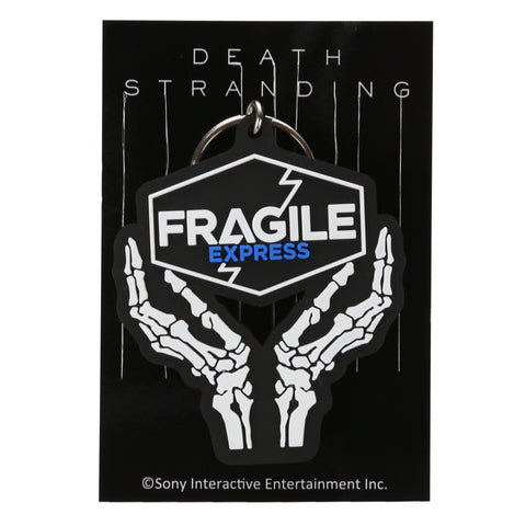 DEATH STRANDING Fragile Express Rubber Keychain