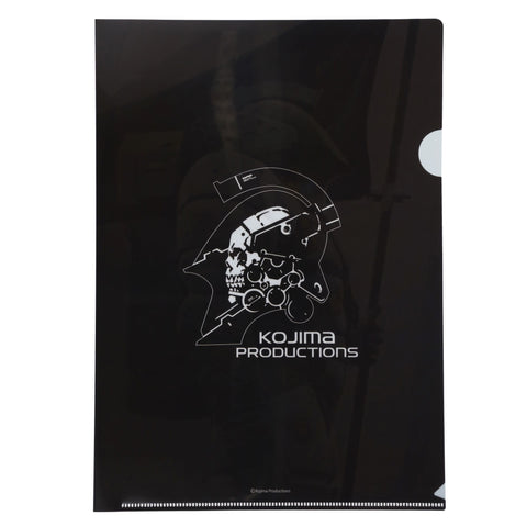 KOJIMA PRODUCTIONS File Folder Black