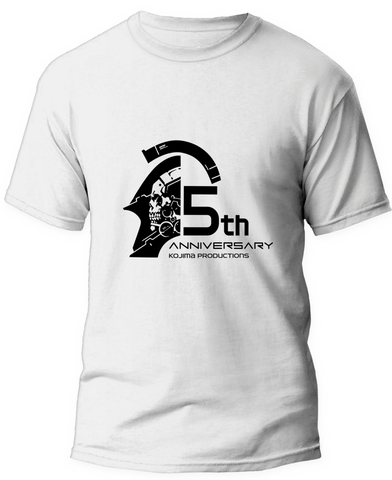 KOJIMA PRODUCTIONS 5th Anniversary T-Shirt